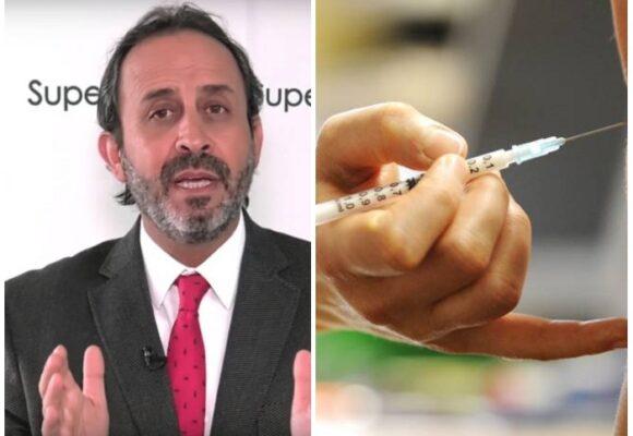 Ojo del Supersalud Fabio Aristizábal con colados en la vacunación en Bogotá