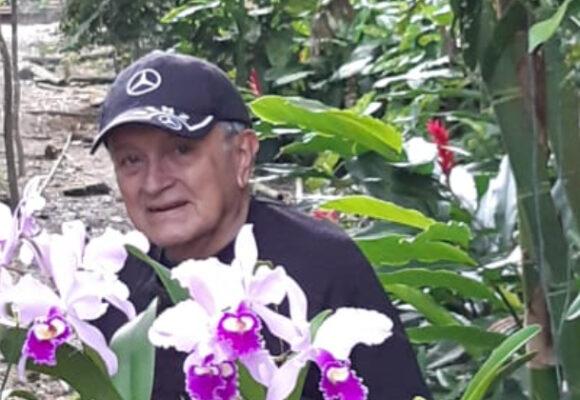 El jardinero feliz
