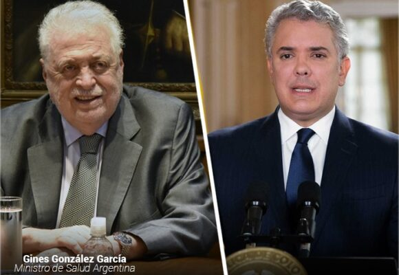 Salvavidas para Minsalud argentino despedido por Vacunagate: la Embajada en Colombia
