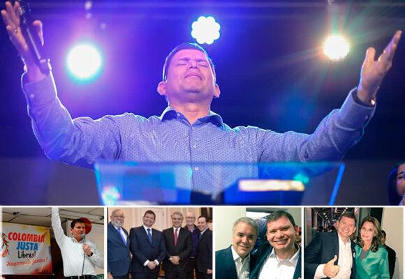 Pastor y político, el poderoso John Milton Rodríguez quiere ser Presidente