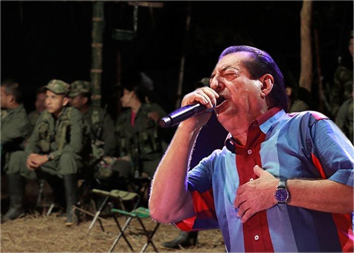 Hasta en las Farc escuchaban con alegría a Jorge Oñate