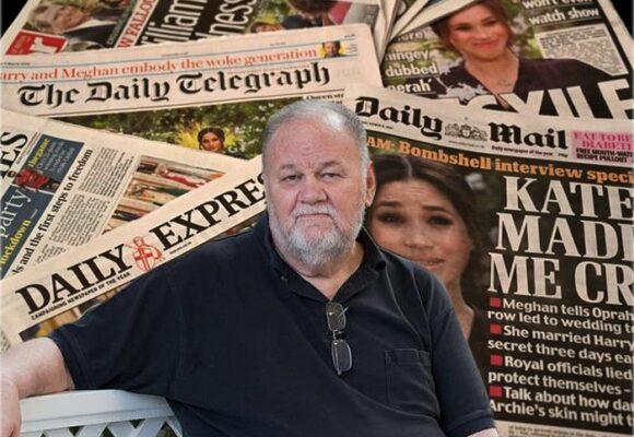 El padre de Meghan Markle pone en duda las acusaciones de la duquesa de Sussex