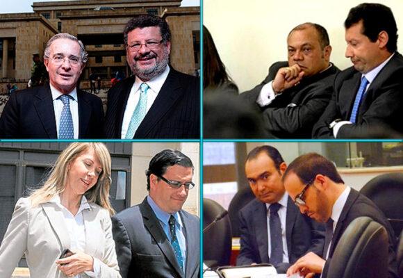 Los abogados de los casos más sonados en Colombia