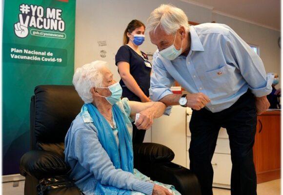El plan de vacunación del presidente Piñera puso a Chile como el número uno del mundo