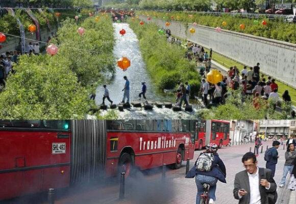"""¡Que reviva el río San Francisco (eje """"ambiental"""") de Bogotá!"""