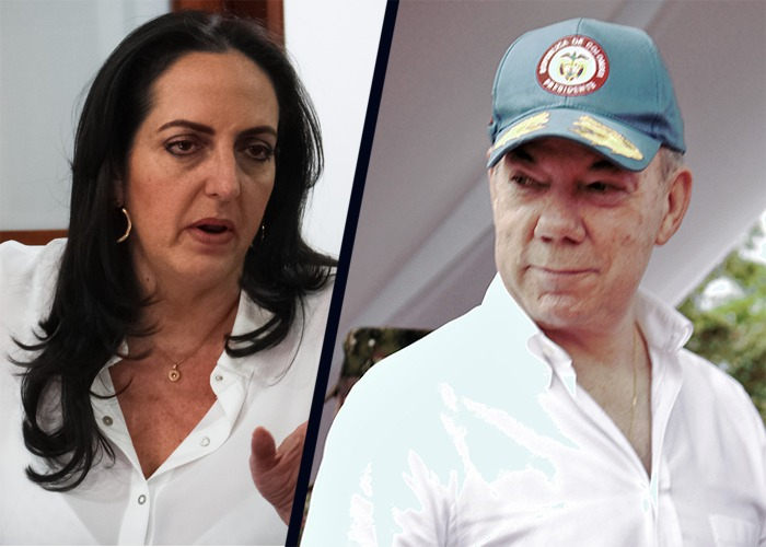 María Fernanda Cabal le pide al Comité Noruego que le quiten el Nobel a Santos