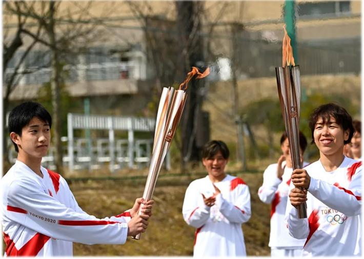 Tokio: comienza el relevo de la antorcha olímpica en medio de temores por el Covid-19