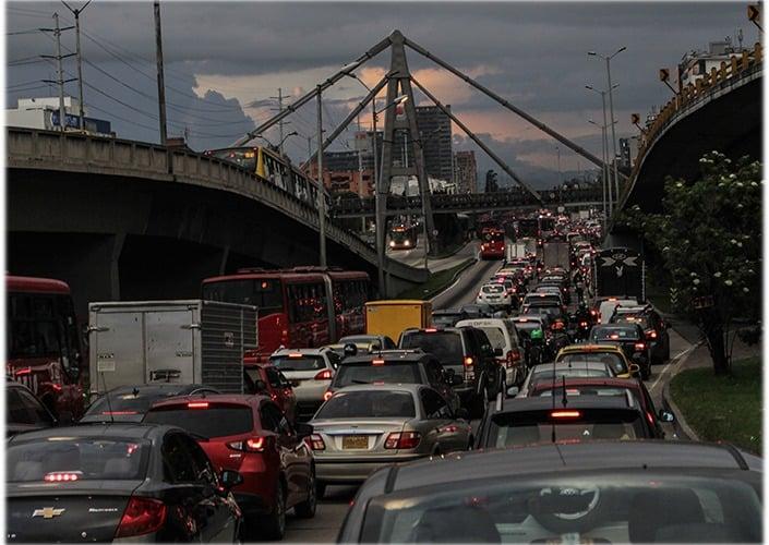 Bogotá es la ciudad más congestionada del mundo