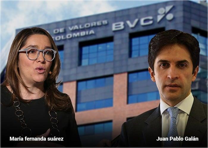 Exministra de Minas y presidente de Credicorp a la dirección de Bolsa de Colombia