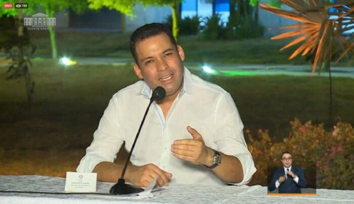 En 2019, Nemesio Raúl Roys Garzón ganó las elecciones por la gobernación de La Guajira con 131.284 votos. Foto: Casa de Nariño