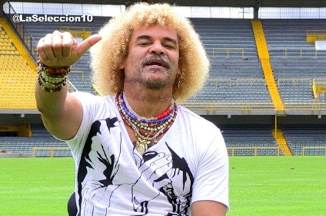 El Pibe Valderrama cobra $350 mil pesos por saludo