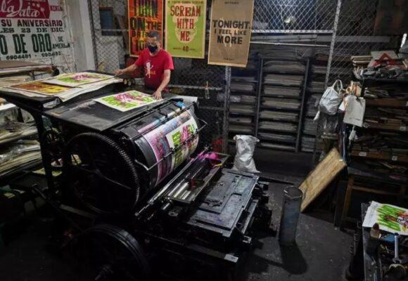 La Linterna, una antigua imprenta renace con el arte urbano en Colombia
