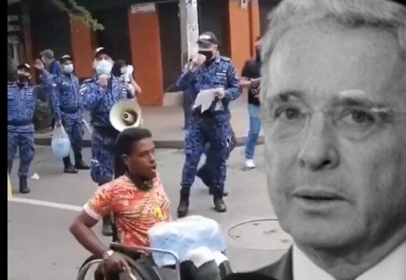 La indignación de Uribe porque el INPEC salió al Paro