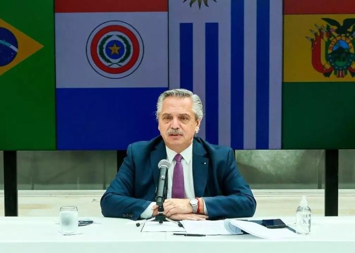 Presidente Fernández de Argentina, positivo para COVID-19