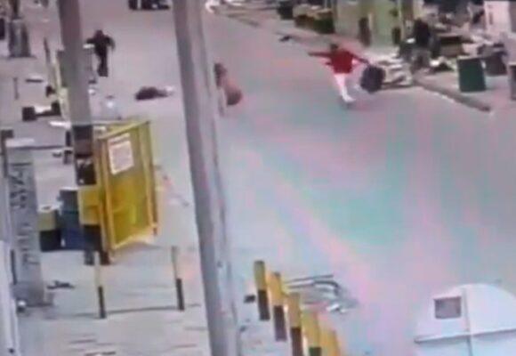 Inseguridad desbordada: asesinan y luego roban a mujer en Bogotá. VIDEO