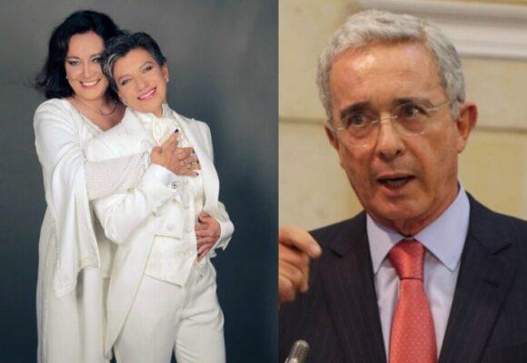 Angelica Lozano defiende con todo a su esposa de los ataques de Uribe