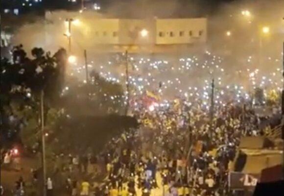 Protestas ciudadanas pacificas esta noche en Cali