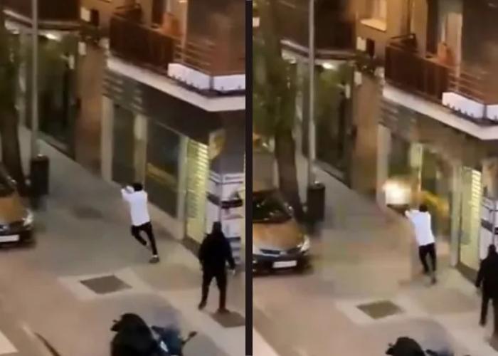 VIDEO: Tiroteo entre