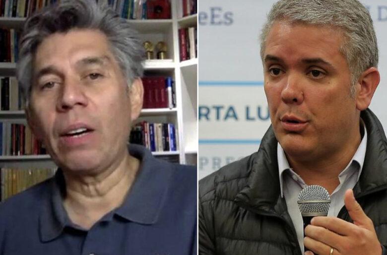 Guantazo de Daniel Coronell a Iván Duque