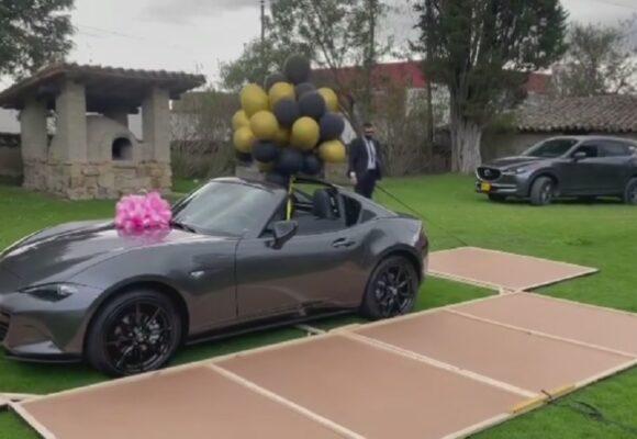 Epa Colombia imparable: su negocio de keratina le dio para estrenar convertible