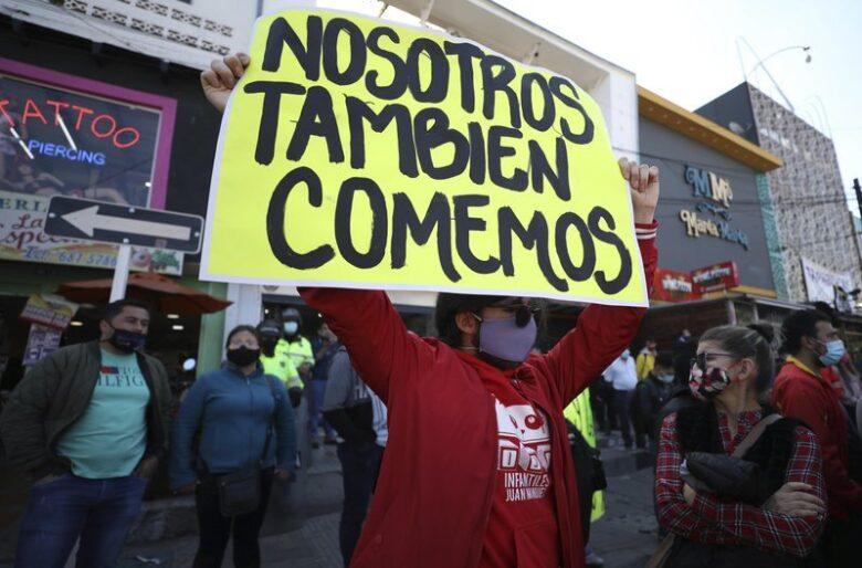 Rebelión de comerciantes contra la cuarentena del fin de semana en Bogotá