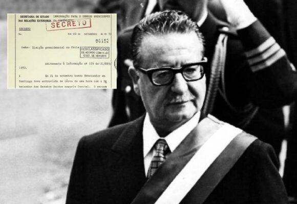La dictadura militar brasileña participó activamente en la caída de Allende