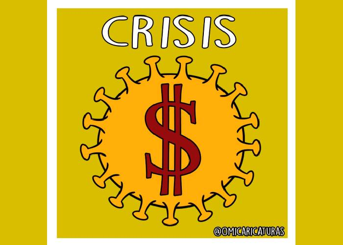 Caricatura: Pandemia tributaria