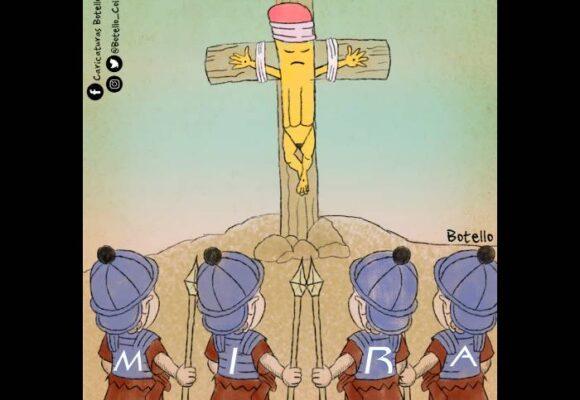 Caricatura: ¡No nos callarán!