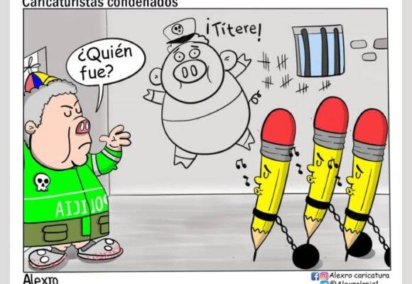 Caricatura: Caricaturistas condenados
