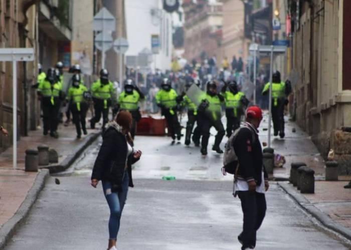 Paro, represión y violencia