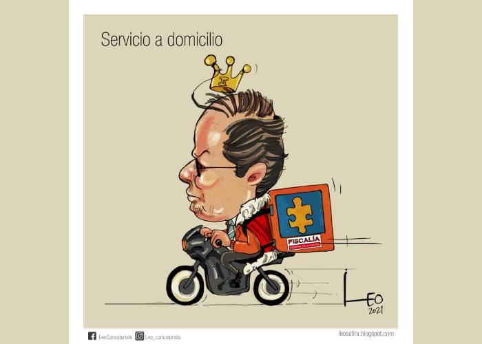 Caricatura: Servicio a domicilio