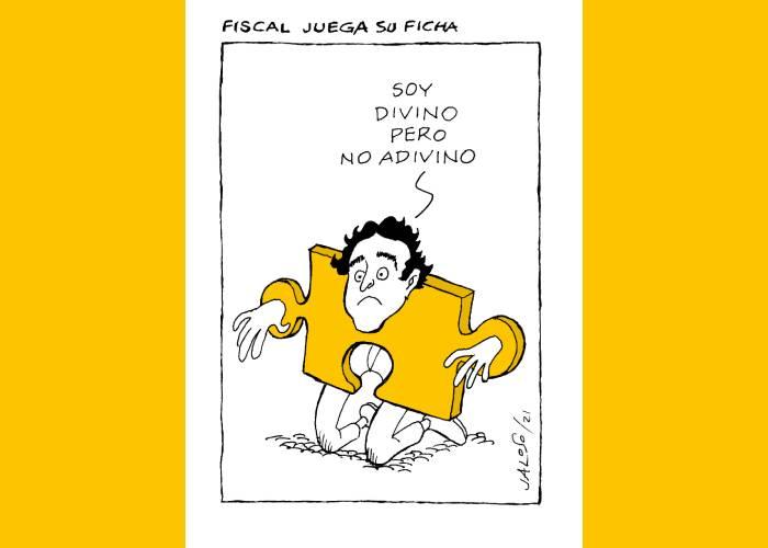 Caricatura: Fiscal juega su ficha