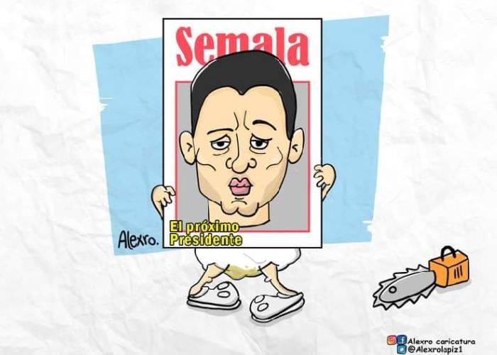 Caricatura: La inflada de Tomás Uribe