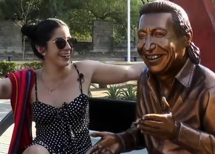 ¿Tiene poderes la estatua de Diomedes Díaz en Valledupar?