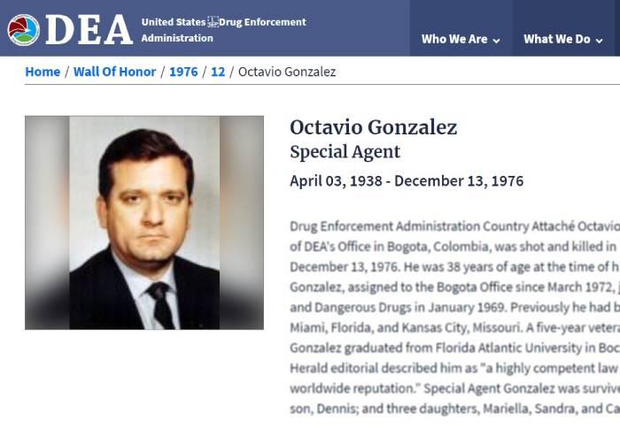 La extraña muerte del jefe de la oficina de la DEA en Bogotá