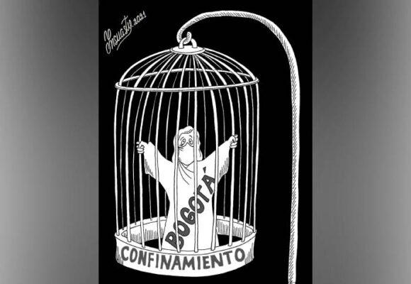 Caricatura: Confinamiento
