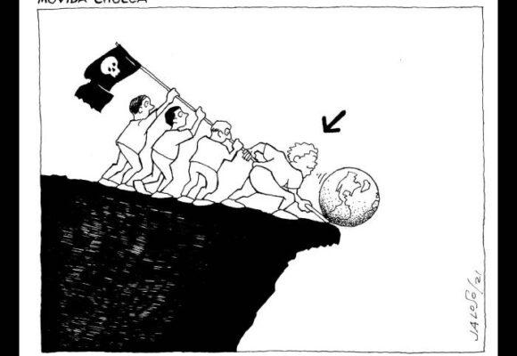 Caricatura: Movida chueca