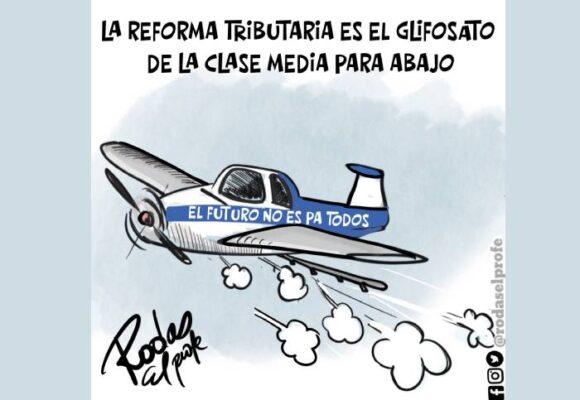Caricatura: ¡Nos quieren destruir!