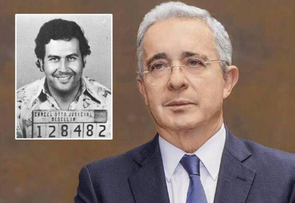 Álvaro Uribe Vélez, el sueño cumplido de Pablo Escobar