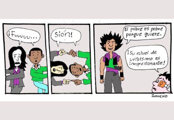 Caricatura: Fusión uribista