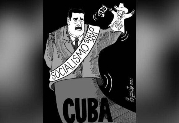 Caricatura: Maduro y el socialismo del siglo XXI