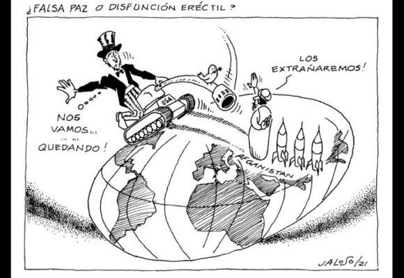Caricatura: ¿Falsa paz o disfunción erectil?