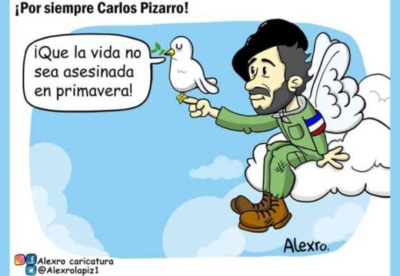 Caricatura: ¡Por siempre Carlos Pizarro!
