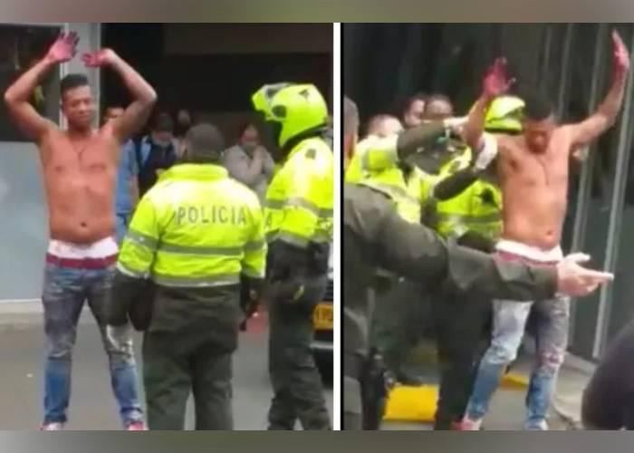 VIDEO: Los papás de Guarín llamaron a la Policía