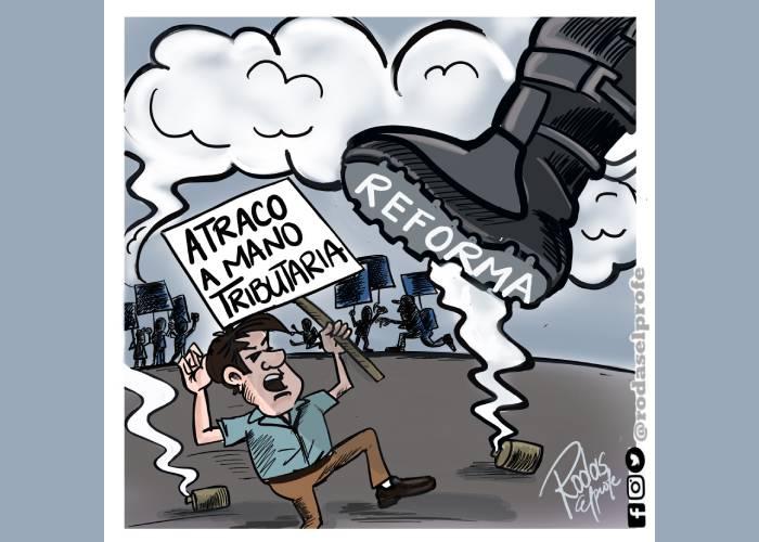 Caricatura: Quien no escucha al pueblo no merece gobernar
