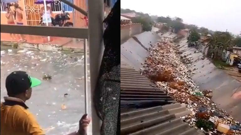 Infernal río de basuras azota a Barranquilla