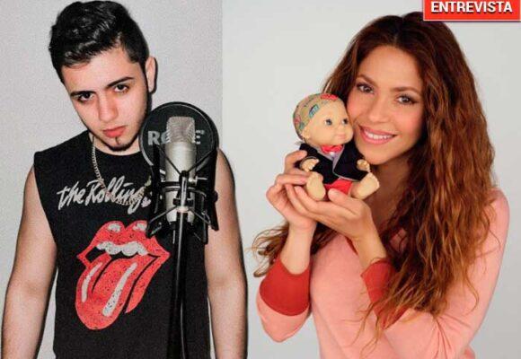 El sobrino de Shakira le da la batalla a su tía en la música