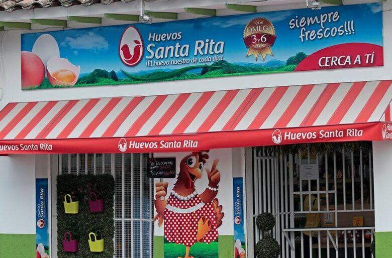 Huevos Santa Rita se burla de Carrasquilla y vende huevos a 1.800 pesos