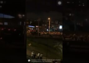 Noche de terror: el ESMAD desbordado contra la gente