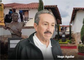 Tratado como procer Hugo Aguilar, el exgobenador condenado por paramilitarismo